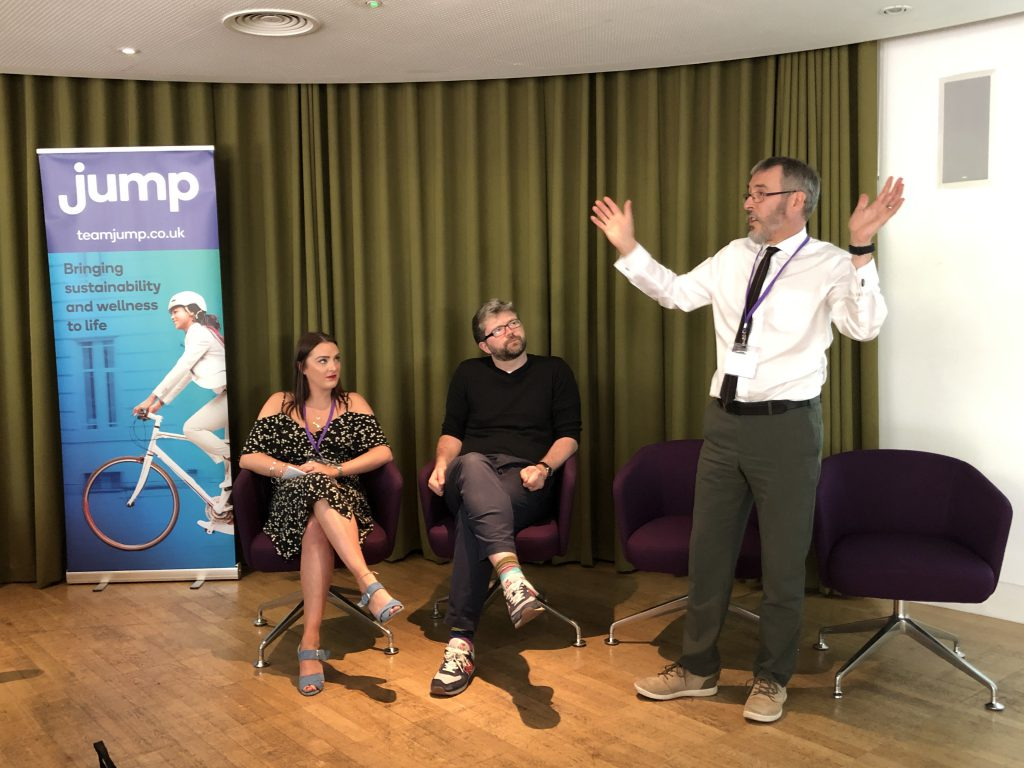 jump behaviour change seminar 2019