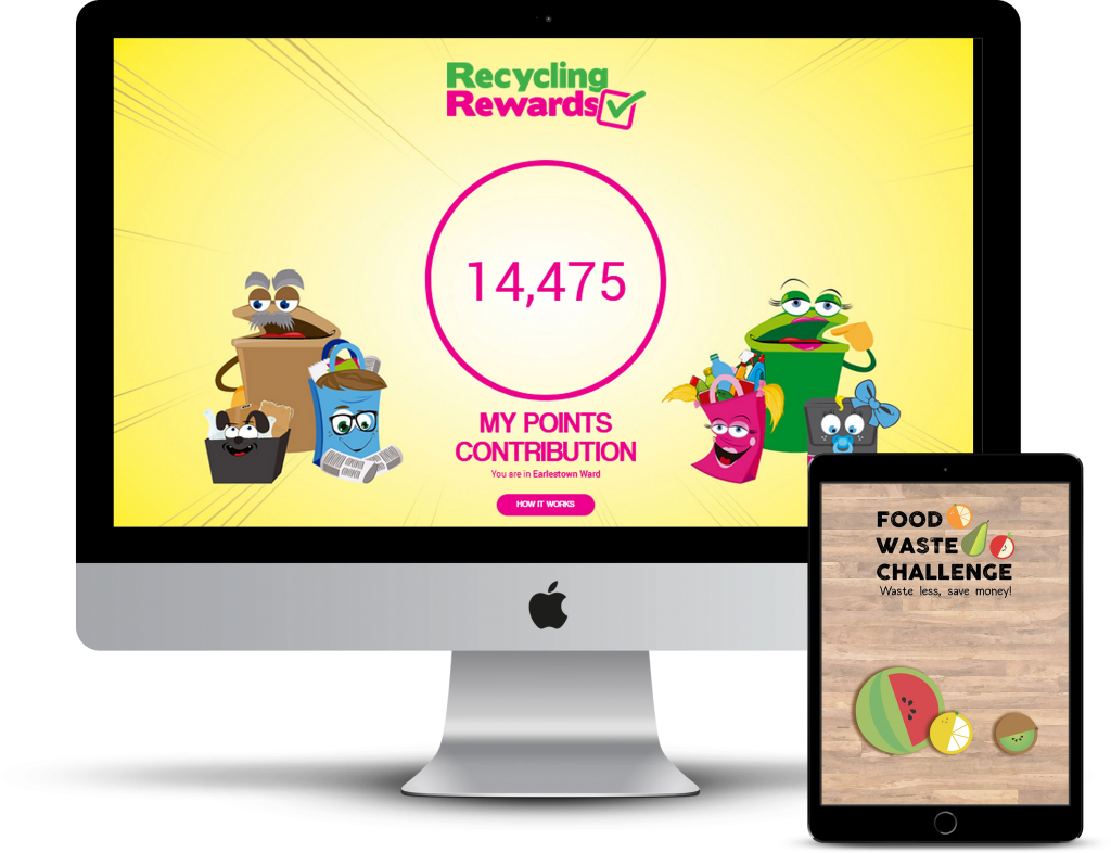 recycling and waste minimisation engagement schemes